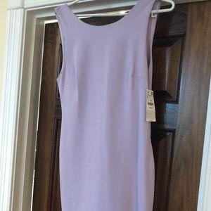 NWT ZARA open back mini dress